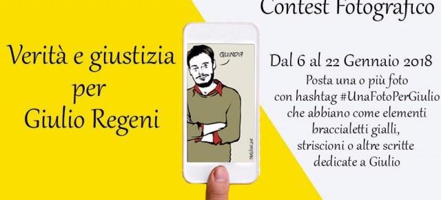 Contest fotografico #Una foto per Giulio